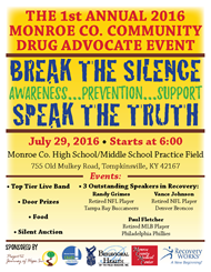 DRUG AWARENESS, PREVENTION, and SUPPORT Event
