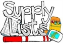 Suppy Lists