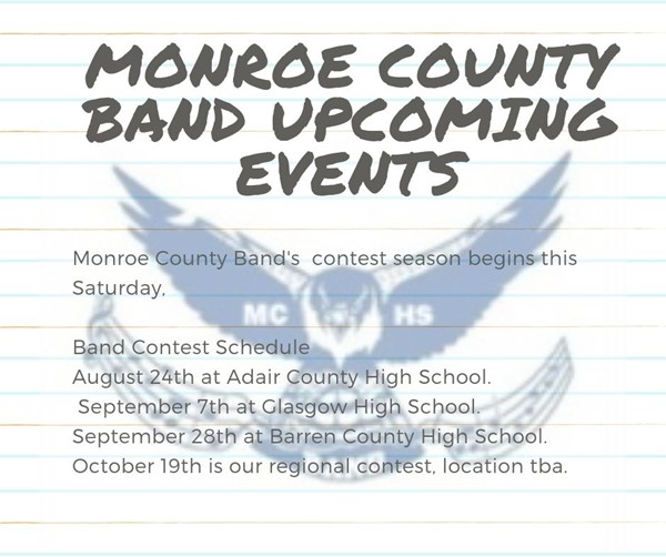 Band Schedule