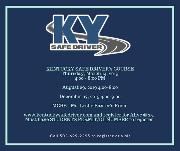 KY Safe Driver Courses