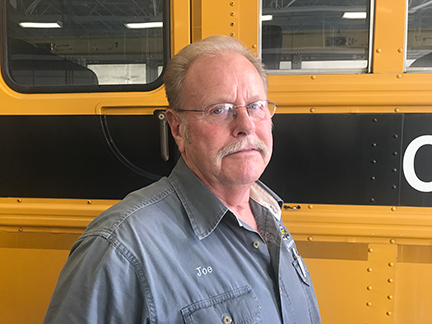Joe Ford, Bus Maintenance Manager