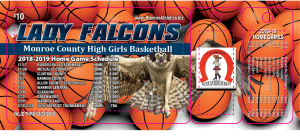 18 - 19 Lady Falcon Spirit Card