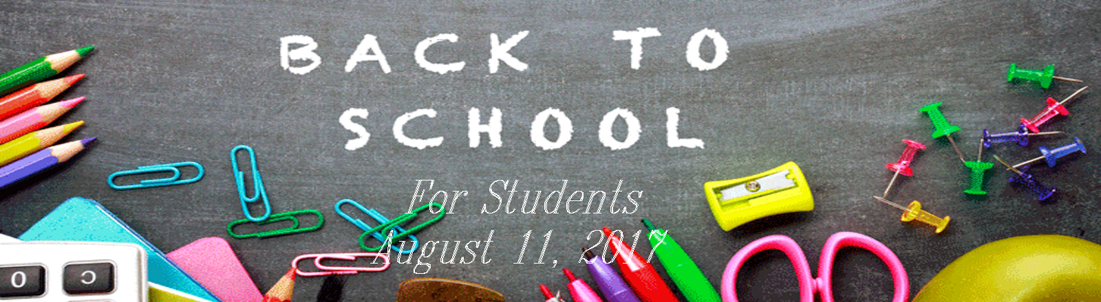 Students Return - August 11