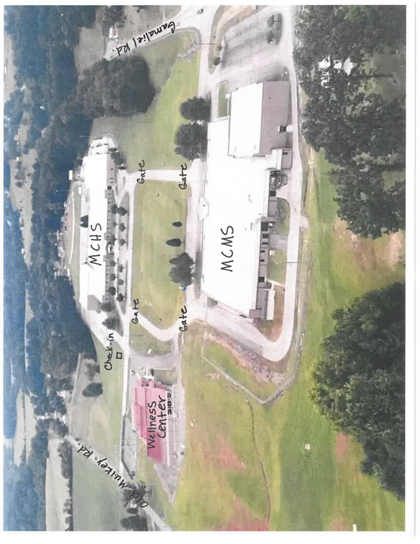 Mchs Campus Map.Changes To Through Traffic At The Ms And Hs Campus Gamaliel Elementary